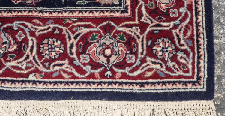 Indo Persian Hand Knotted Wool Rug 3 X 5 1