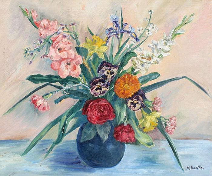 MARIA BARTHA STILL LIFE PAINTING