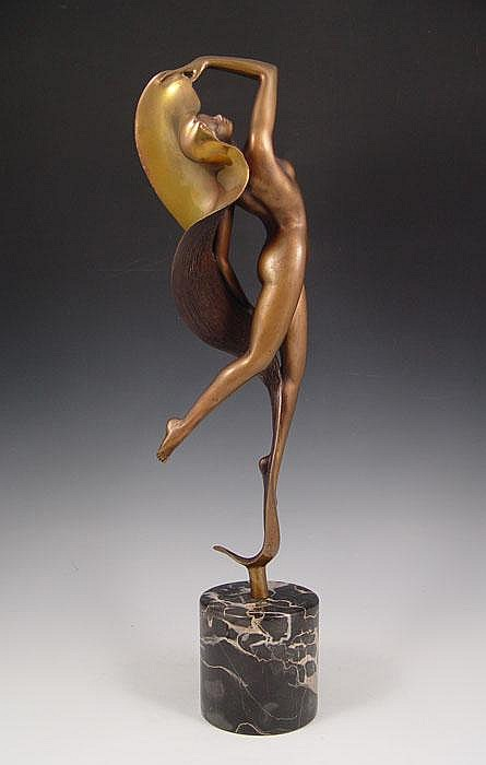 ANGELO BASSO DANCER BRONZE