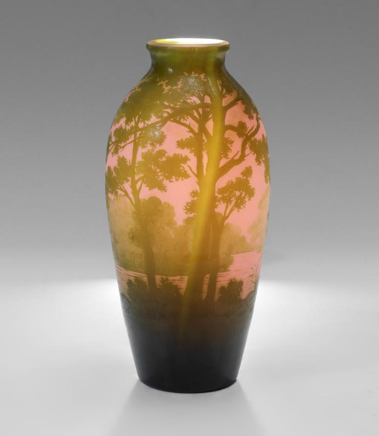 Villeroy And Boch Crystal Vases Garden View Landscape