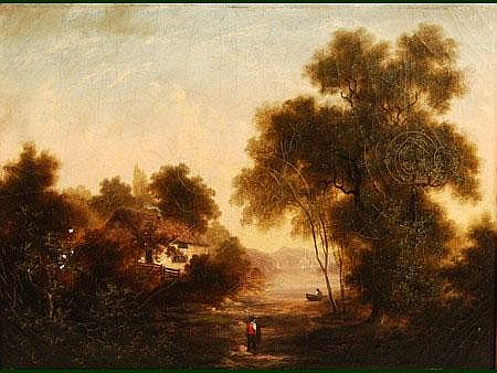 Robert Woodley Brown (British 19th century)