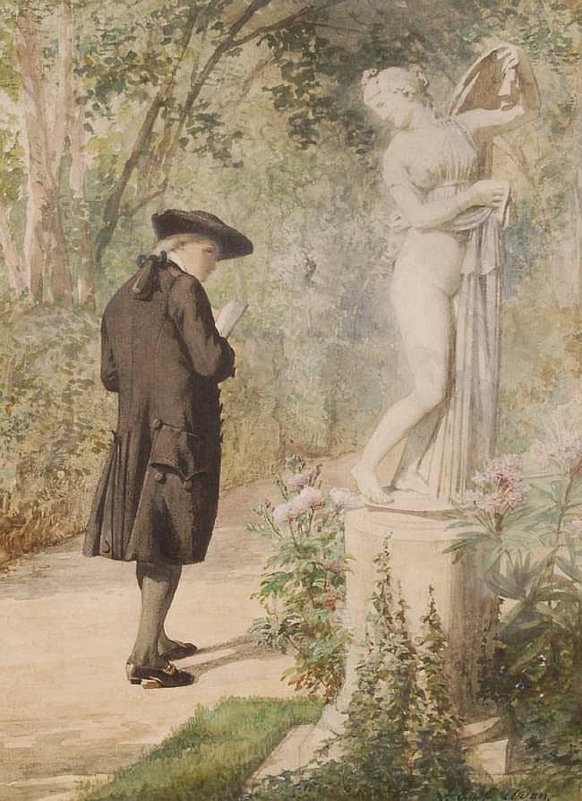 LOUIS EMILE ADAN (1839-1937) Watercolour,