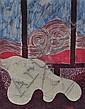 Bernadette Madden (Irish, born 1932) Batik, Bernadette Madden , Click for value