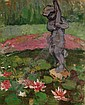 PHYLLIS BRAY (1911-1991) Oil on board, Garden, Phyllis Bray, Click for value