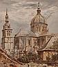 REV. JOHN LOUIS PETIT (1801-1868) Watercolour,