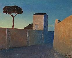 MANLIO GUBERTI-HELFRICH (Italian Artist,