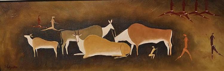 Simon Moroke Lekgetho (South African, 1929-1985)