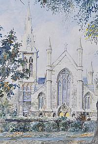 John Godden Watercolour