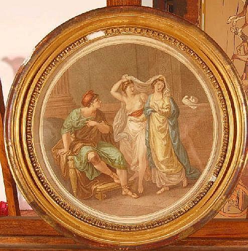 WILLIAM WYNNE RYLAND, pair of 18th Century