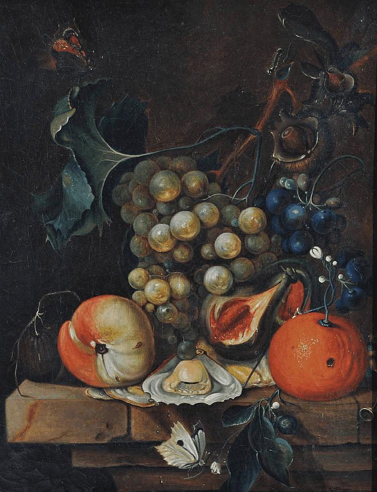 Early 19th century oil on canvas, still life