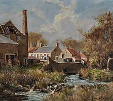 William Edwin Tindall (1863-1938) Oil on canvas,