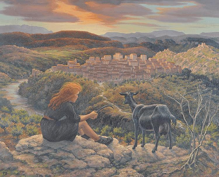 Margaret Barnard (Rye artist, born 1901) oil on