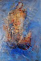 ANTHONY KRIKHAAR (Born 1940), oil on board,, Anthony Krikhaar, Click for value