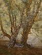 ADOLPHE-JEAN HAMESSE (B. 1849), watercolour,