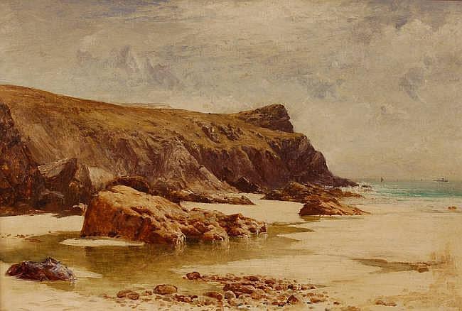 JOHN WHIPPLE (Exh. 1880-1919) Oil on canvas, West