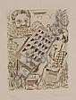 JORIS MINNE (1897-1988) Engraving, Charms of the, Joris Minne, Click for value