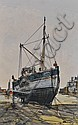 Ben Maile Oil on board, Brixham fishing boat,, Ben Maile, Click for value