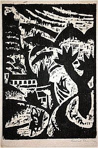 Klein, Bernhard (1888-1967): hügelige Landschaft