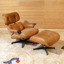 EAMES / HERMAN MILLER LOUNGE CHAIR & OTTOMAN
