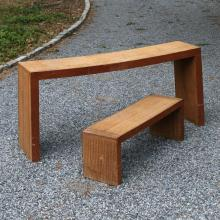 (2pc) FRANK GEHRY EASY EDGES TABLES