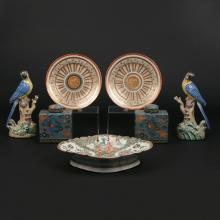 (7pc) CHINESE EXPORT & JAPANESE PORCELAIN