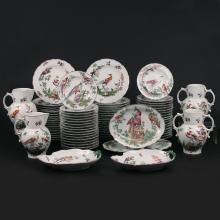 (79pc) MOTTAHEDEH COLONIAL WILLIAMSBURG CHINA