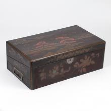 JAPANESE LACQUERED WRITING BOX
