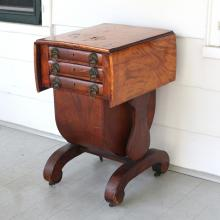 CLASSICAL EMPIRE SEWING STAND