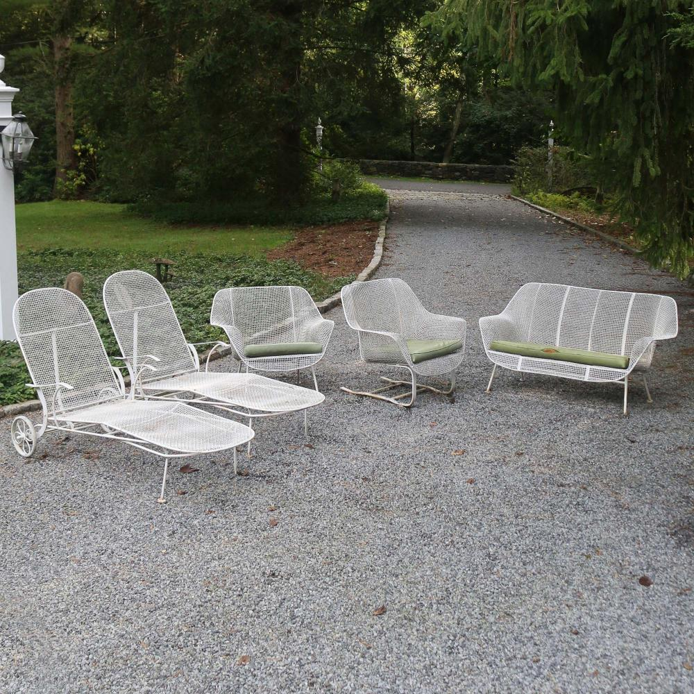Sold Price 5pc Russel Woodard Sculptura Patio Furniture Invalid Date Edt