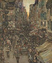 LEWIS HERZOG (American, 1868-1943)