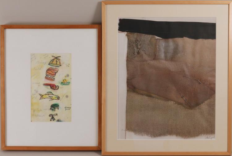 TWO MODERNIST WORKS ON PAPER