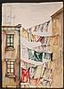 (2pc) BARBARA ADRIAN - CLOTHESLINE VIEWS, Barbara Adrian, Click for value