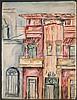 (2pc) BARBARA ADRIAN - ST. CROIX BUILDINGS, Barbara Adrian, Click for value