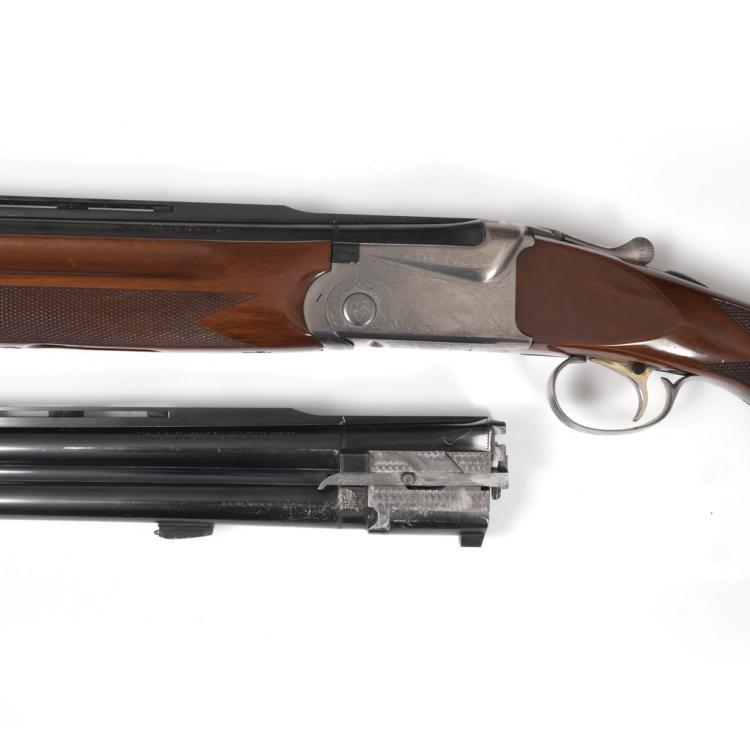 ENGRAVED SKB MODEL 605 TRAP SHOTGUN
