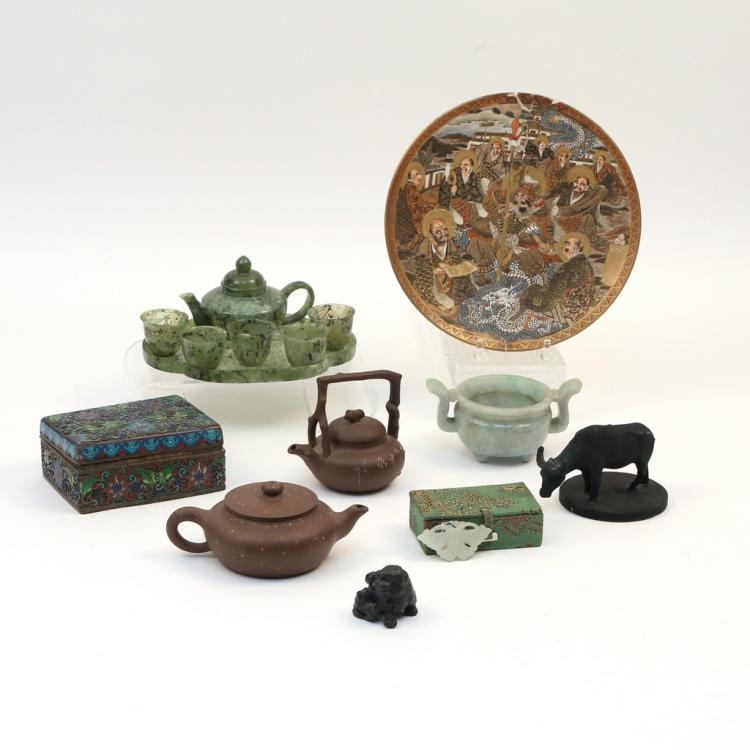 (15pc) MISC. ASIAN OBJET D'ART