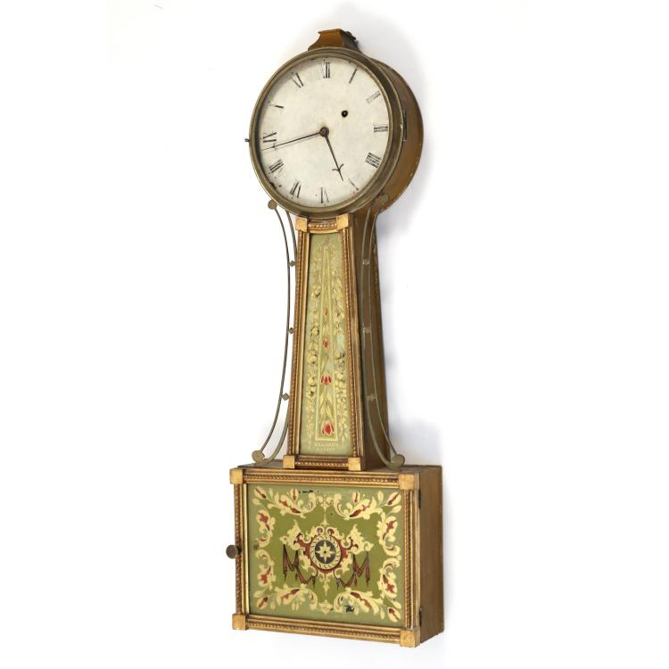 WILLARD'S PATENT BANJO CLOCK