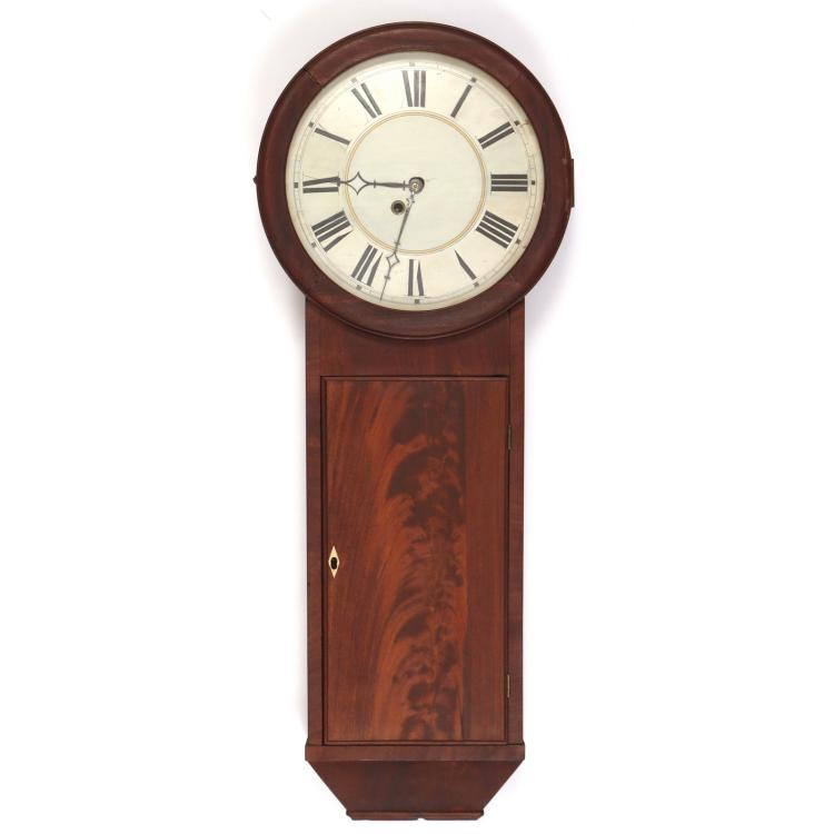 SILAS B. TERRY PLYMOUTH REGULATOR CLOCK
