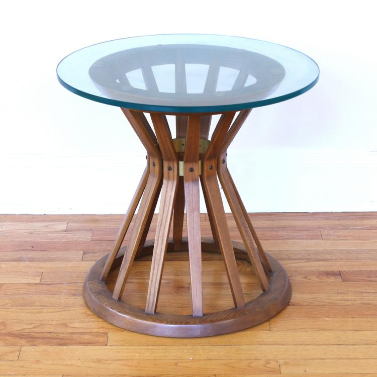 MID CENTURY BENTWOOD SIDE TABLE