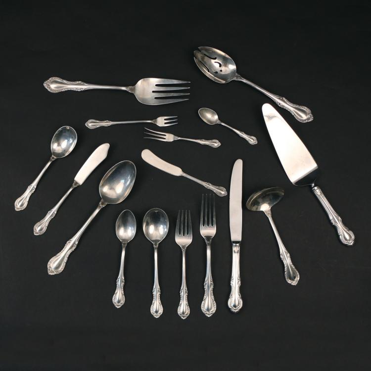 (99pc) STERLING SILVER FLATWARE SERVICE