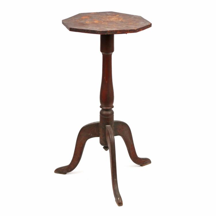PRIMITIVE AMERICAN CANDLESTAND