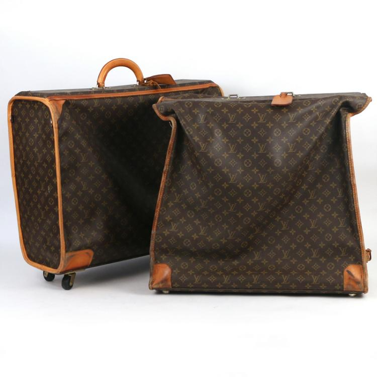 (3pc) LOUIS VUITTON SOFT LUGGAGE