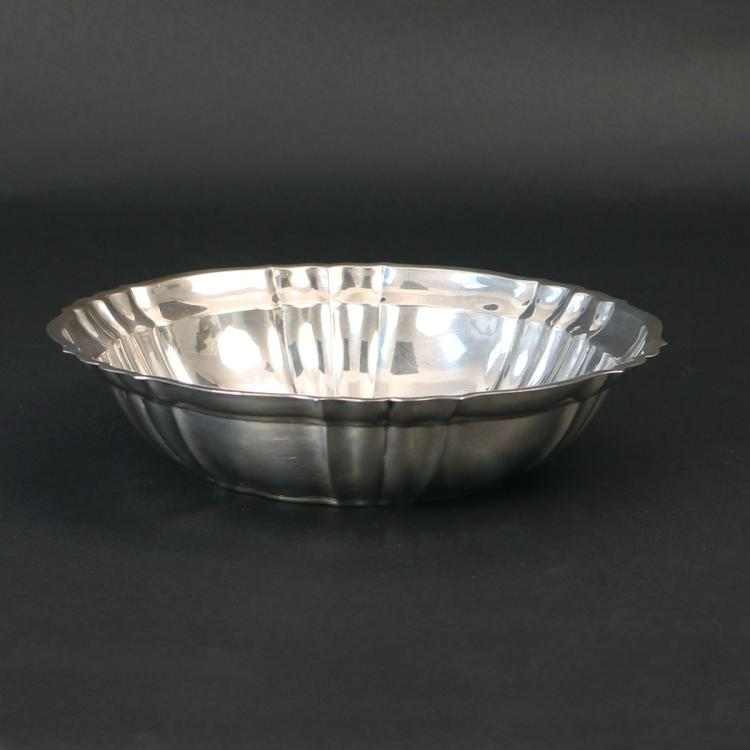 GORHAM 'CHIPPENDALE' STERLING SILVER BOWL