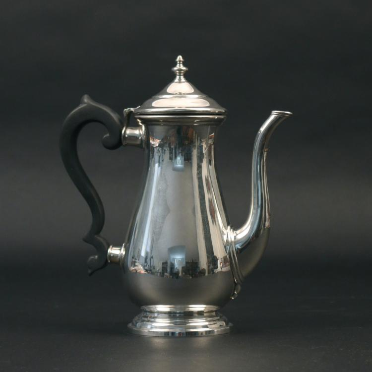 LUNT STERLING COFFEE POT