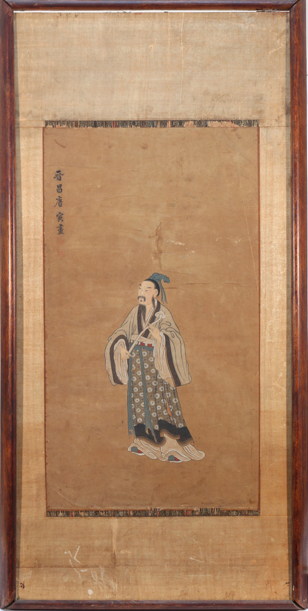 CHINESE PAINTING OF WENCHANG
