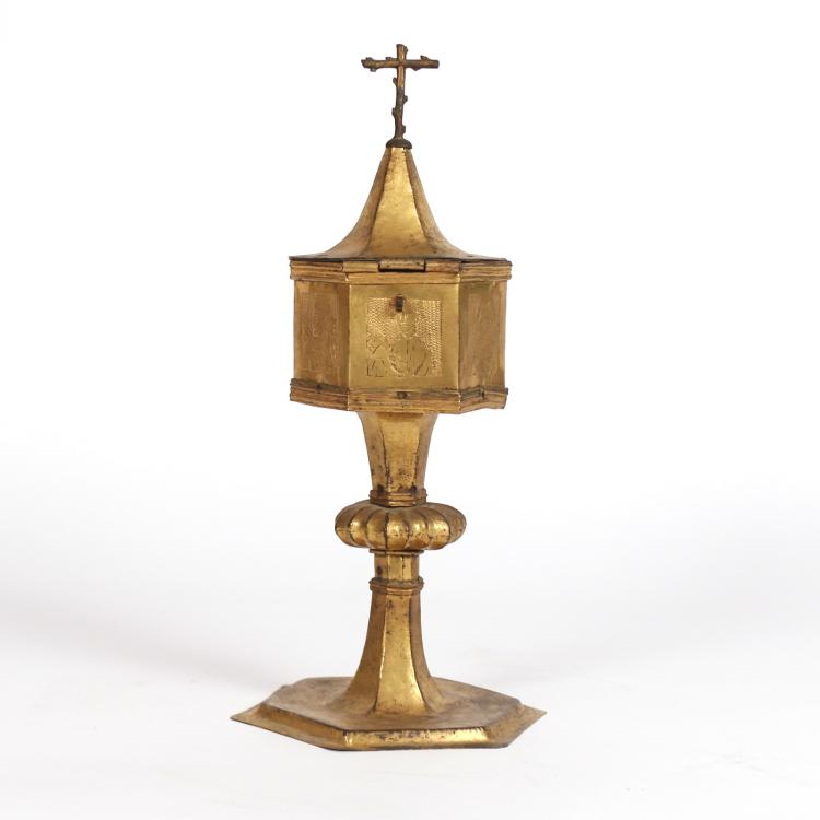 GILT COPPER TABERNACLE