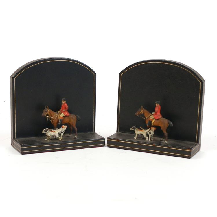 LONDON HARNESS Co. BOOK ENDS