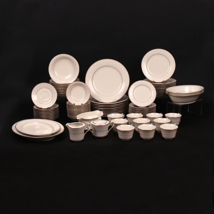 (82pc) NORITAKE IVORY CHINA