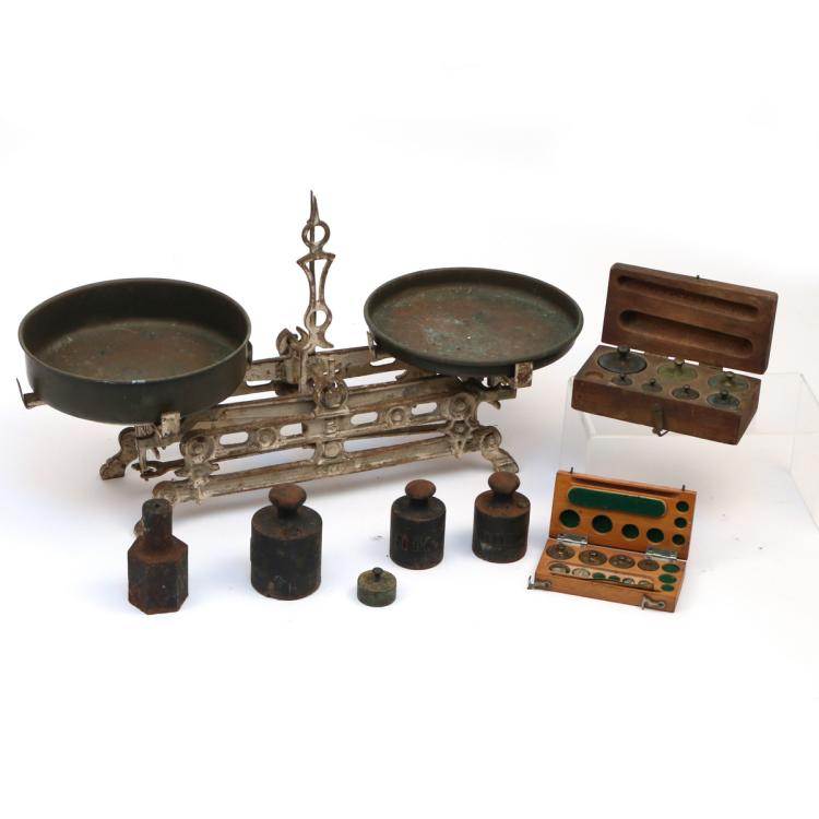 CONTINENTAL CAST IRON SCALE & WEIGHTS