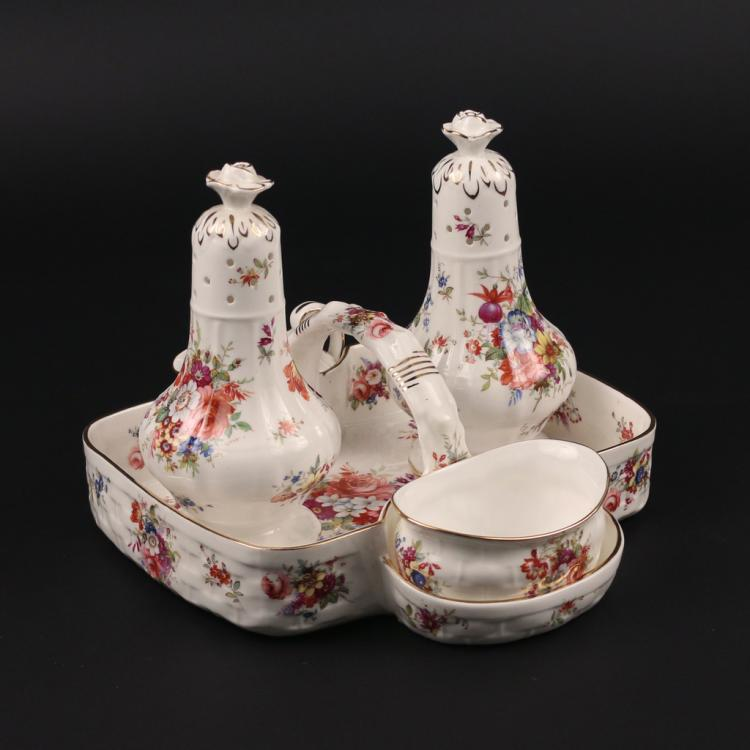 (5pc) HAMMERSLEY TEA TRAY