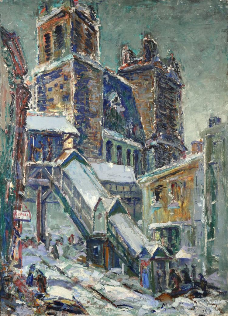 JULIUS LARS HOFTRUP (American, 1874-1954),